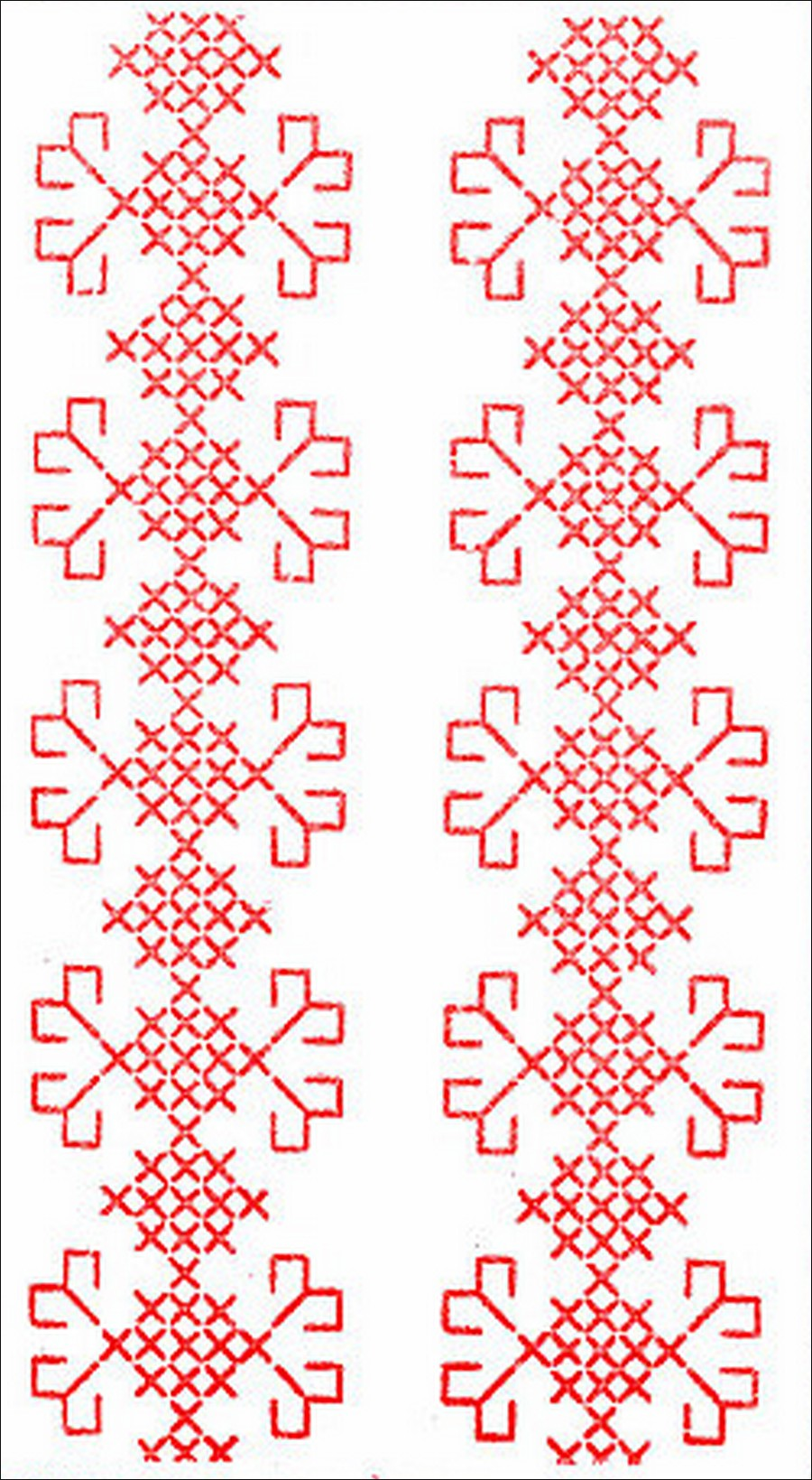 1853 cross stitch pattern