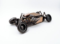 Hot Rod Sculpture