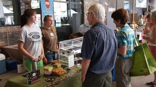 Mill City Farmers Market on May 19, 2012