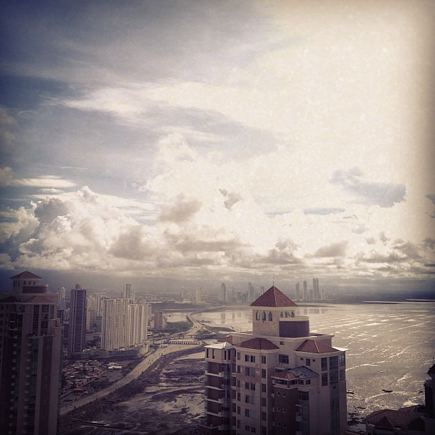 Sunny morning (fun while it lasts) #panamá