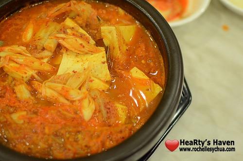 Cafe Monaco Kimchi Soup