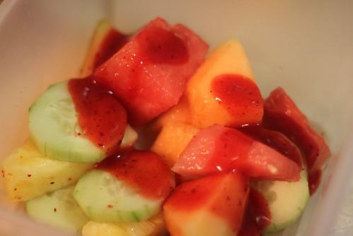Fruit with Chamoy and Tajin