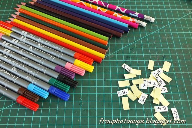 Neue Stifte braucht das Kind