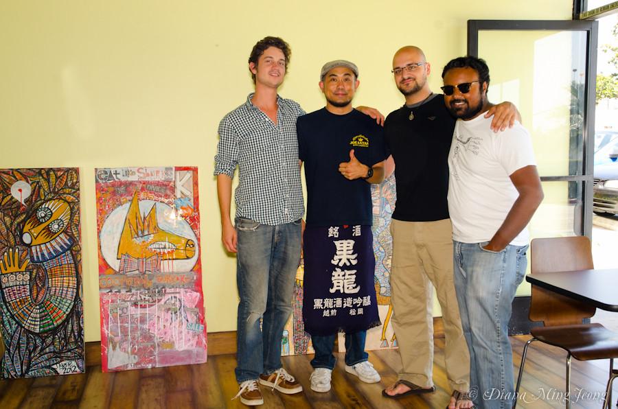 Rootsystem fellas Robby Marshall, Daniel Rosenboom, and Vikram ...