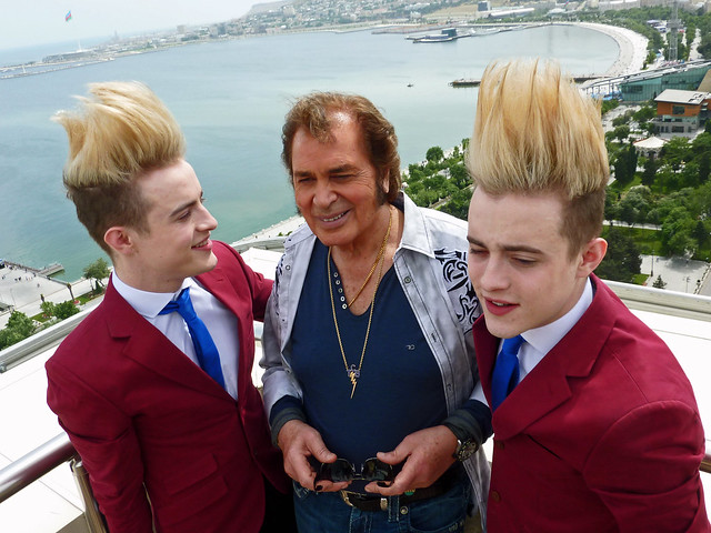 Jedward and Engelbert Humperdinck