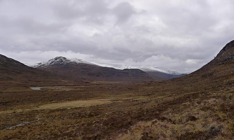 The Strathfarrar Munros above Glen Orrin
