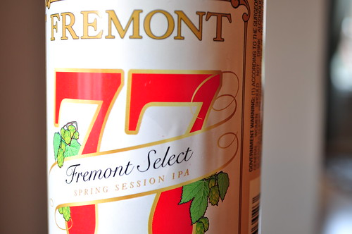 image of Fremont Select 77 Session India Pale Ale courtesy of our Flickr page