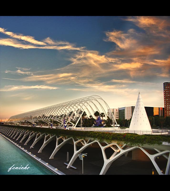 ciudad de las artes ----- umbracle