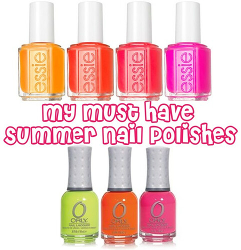 My Must have Summer nail polishes