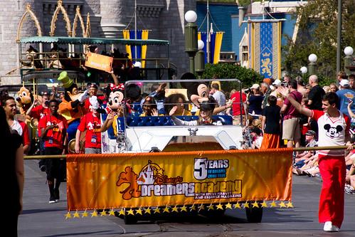 Disney's Dreamers Academy Parade