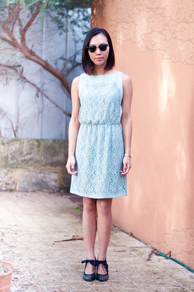 Zara lace dress 4