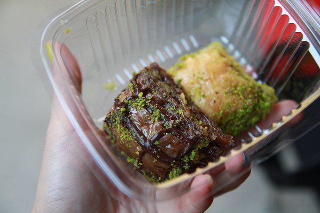 Chocolate and Pistachio Baklava