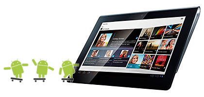 Sony Tablet S and Tablet P gets Android 4.0 Ice Cream Sandwich.