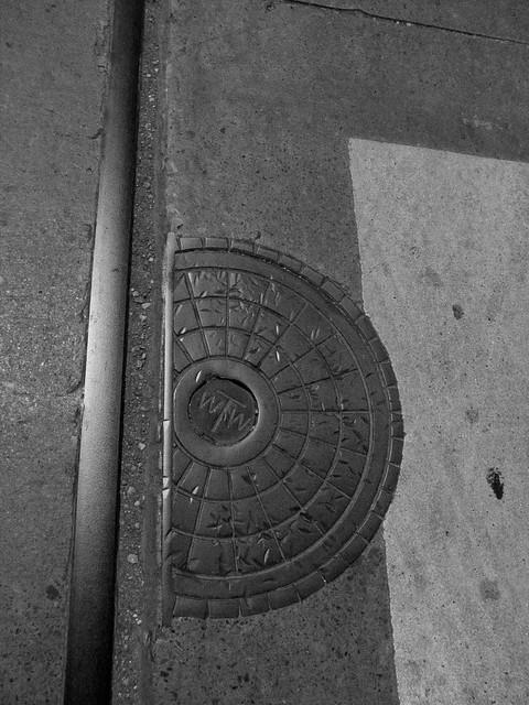 half manhole