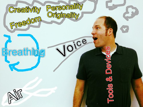 "What is ""voice"" in writing and how is it created? Why is it important to add voice to your writing? (Danny's Symbolic)"