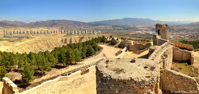Por detrás del castillo (Calatayud, España)