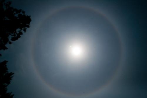 Halo of the Sun 太陽の暈(かさ)