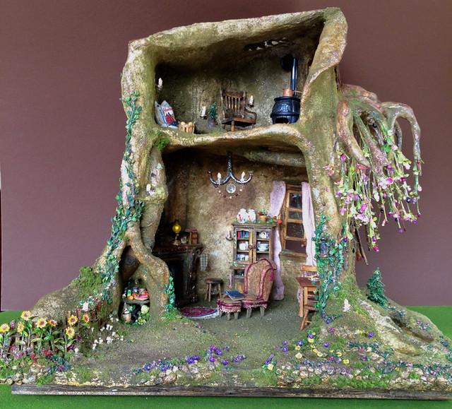 Fairy House Dollhouse Tree House Explore Torisaur S