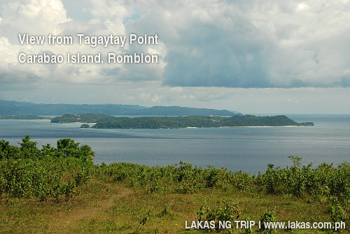 View of Boracay from Tagaytay Point, Carabao Island, Romblon