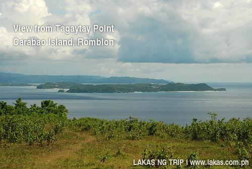 View of Boracay from Tagaytay Point, Carabao Island, Romblon