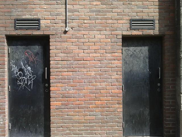 door bricks door