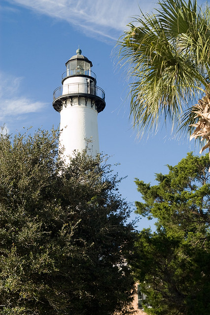 St. Simon lighthouse