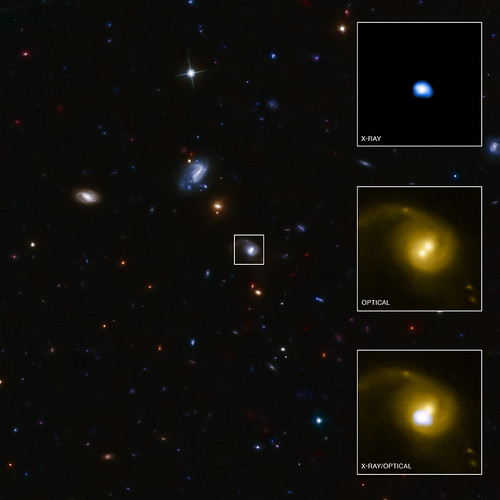 Giant Black Hole Kicked Out of Home Galaxy