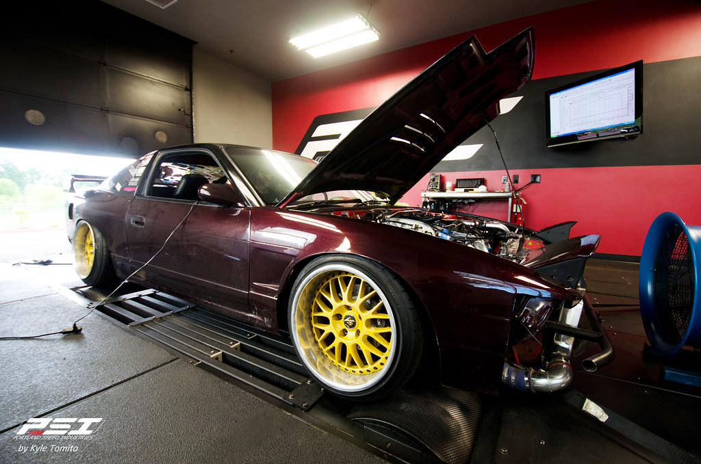 Joe Ayala S13 on the dyno at PSI