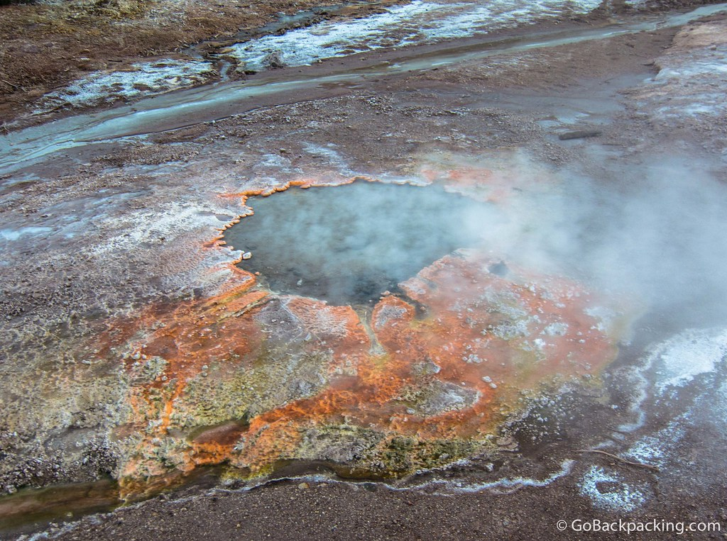 Tourists are advised to keep their distance from the geysers, as the crust around them can be thin. Our guide warned us that more than one person had been injured and killed over the years, as a result of falling into the boiling water.