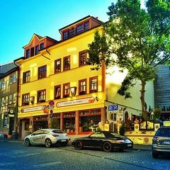 A #Italian #restaurant in #Eisenach #city.