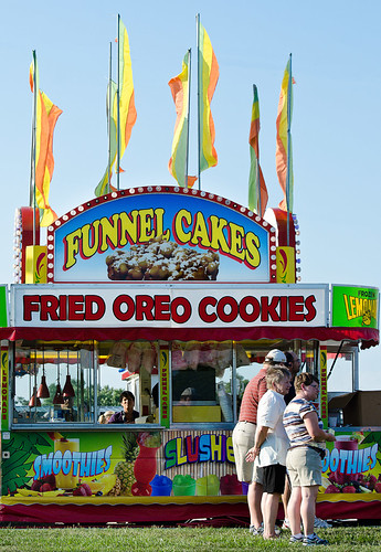 Fair food - fried Oreo cookies