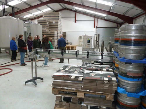 Touring the Black Isle Brewery, Scotland