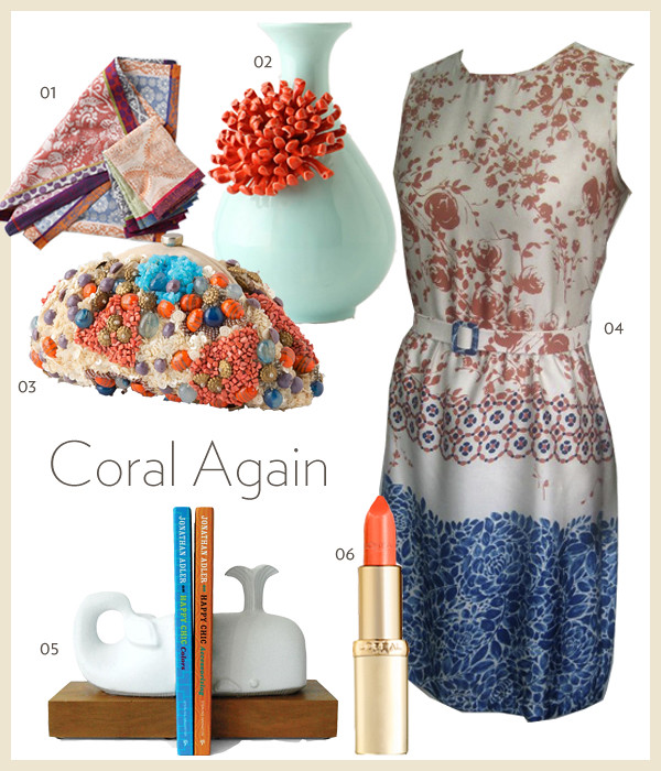 Coral Again collage