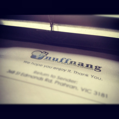 Instagram: 4th Nuffnang Cheque