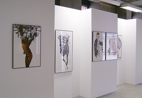 New Nordic Fashion Illustration exhibition_Laura Laine_Tallinn 2011
