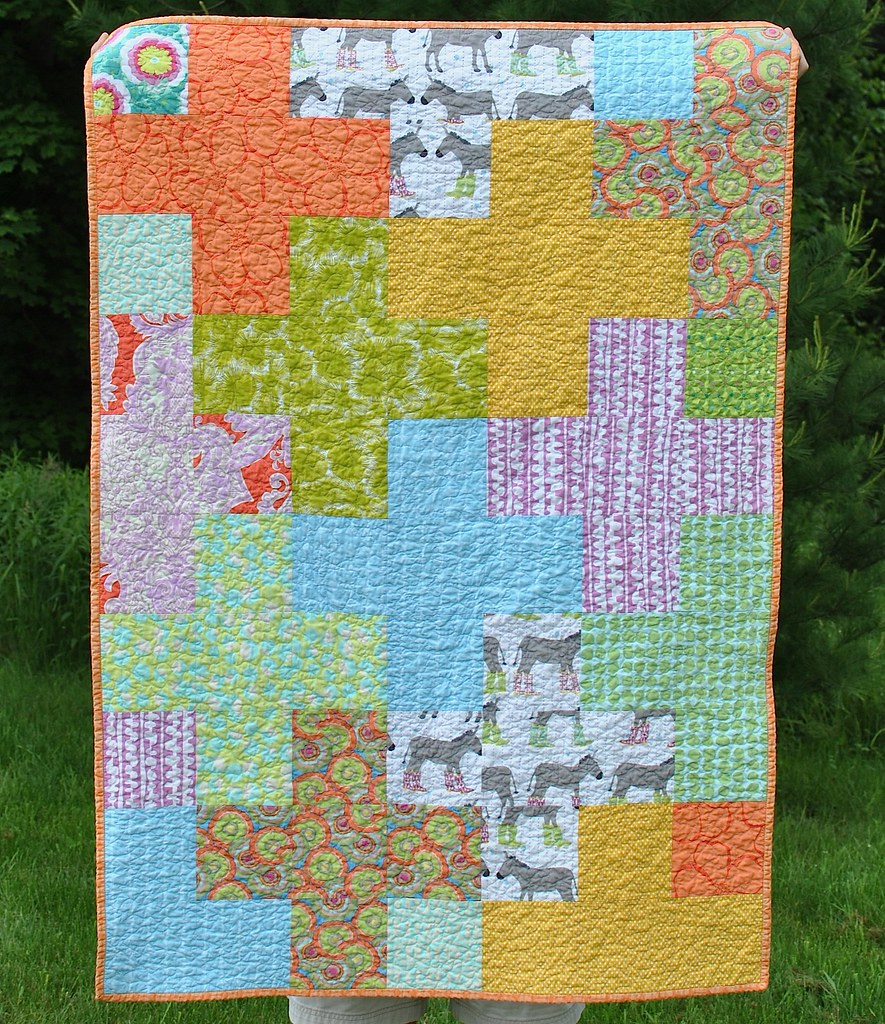 Donkeys in Wellies Quilt