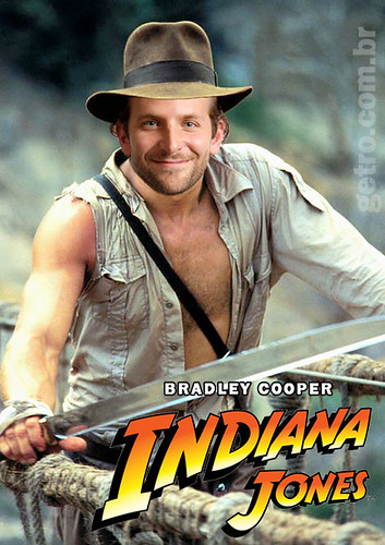 Bradley Cooper é Indiana Jones