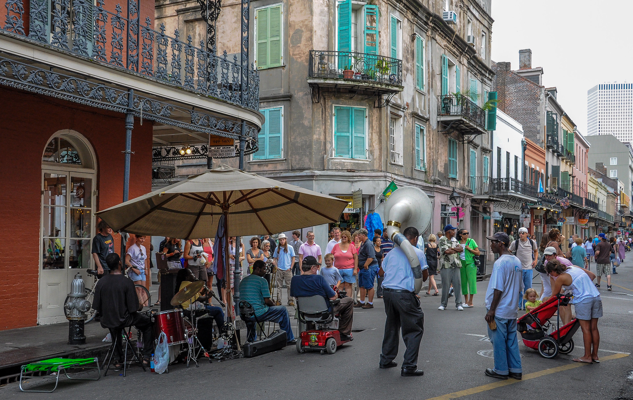 Street Jazz in New Orleans