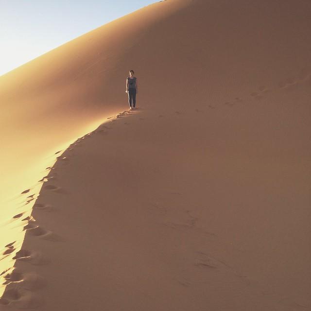 O que fica no deserto, fica no deserto.