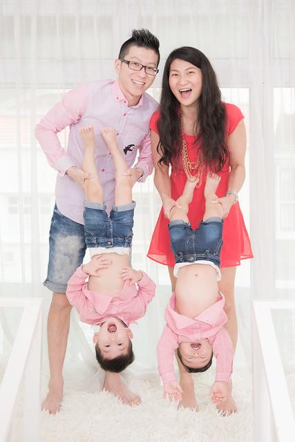 The Choo Family having fun