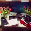 #birthday #favourite #flowers #ghd #glossybox #nike #pro #roshe run #happy #one #day #late #but #great #birthday #love #boyfriend   Glossy Box tests et avis sur la box by passionthe