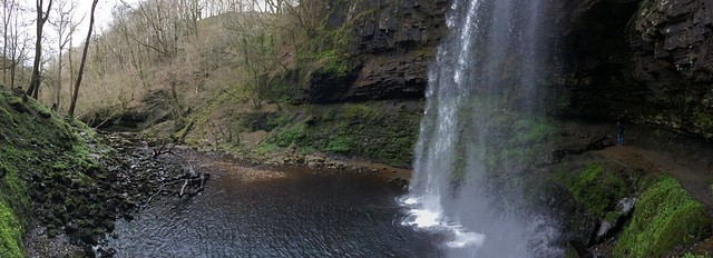 Henrhyd Waterfall Panoramic