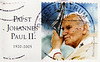 great stamp Germany 55c Karol Józef Wojtyła (27th April 2014 Canonization Canonisation Heiligsprechung Jan Pawel II, Ioannes Paulus PP. II, Pope John Paul II, Papst Johannes Paul II, Juan Pablo II, Papa João Paulo II) poste timbres Allemagne sellos by stampolina