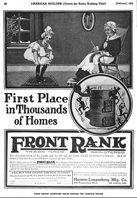 Front Rank advertisement