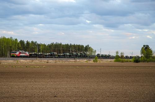 electric train finland spring military locomotive vr sr1 finnishrailways