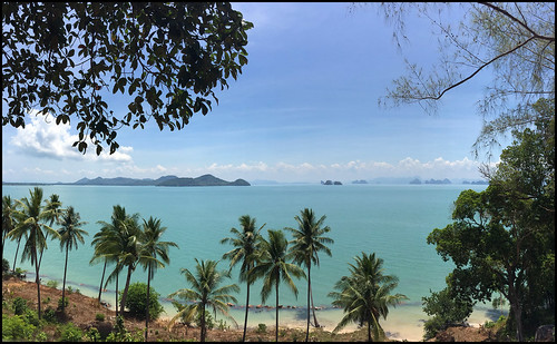 Looking East from Koh Yao Yai