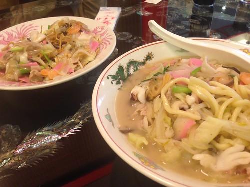 nagasaki-kojiyamachi-keikaen-champon-sara-udon