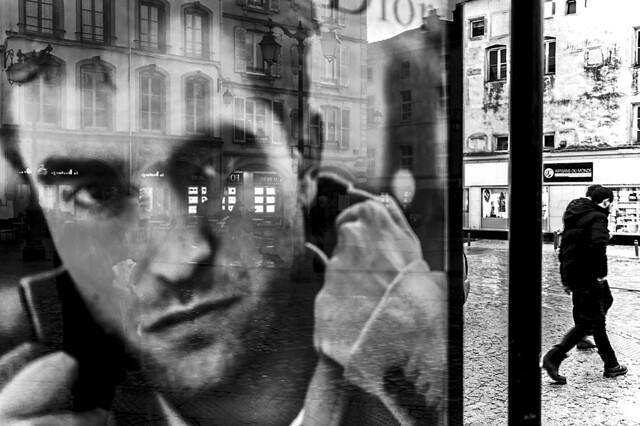 Robert in the street
