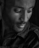 Portrait of a young Ethiopian