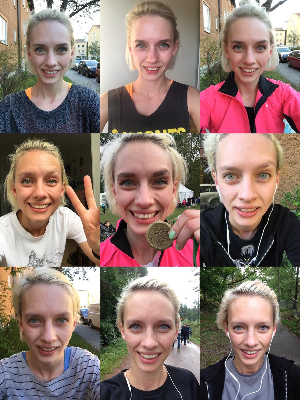 RunKeeper selfies